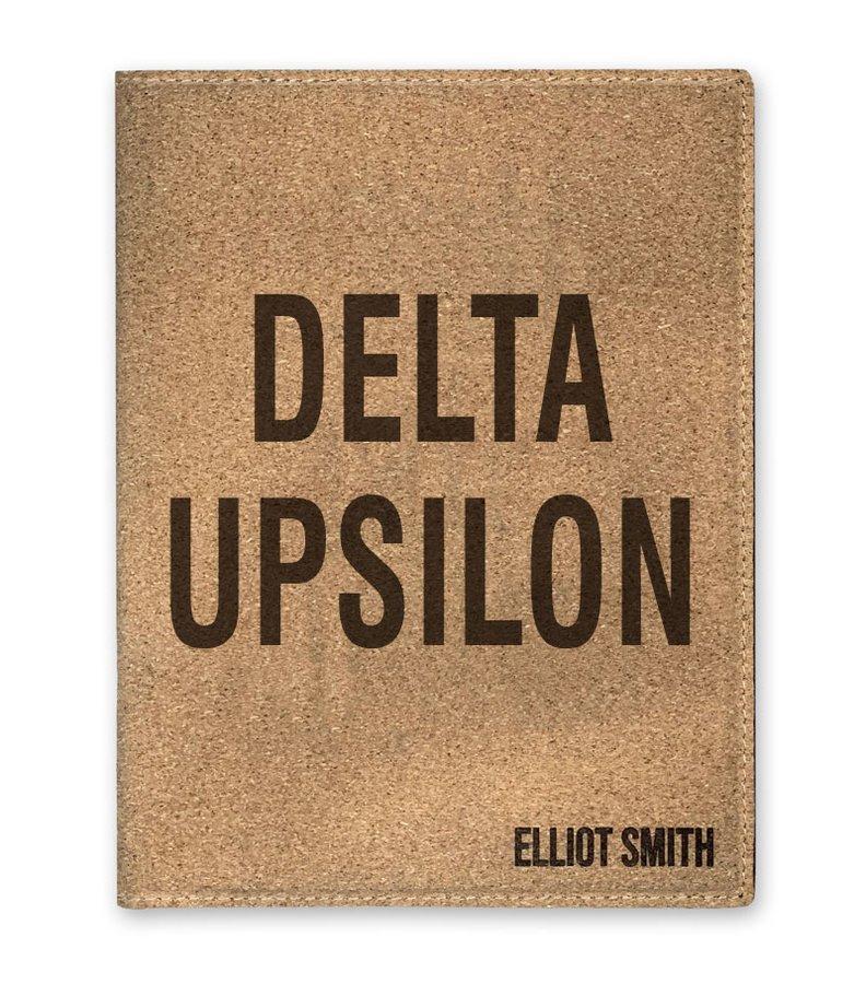 Delta Upsilon Cork Portfolio with Notepad