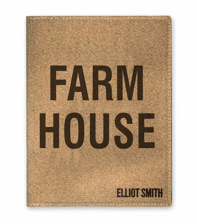 FARMHOUSE Cork Portfolio with Notepad