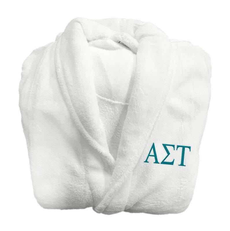 Alpha Sigma Tau Greek Letter Bathrobe