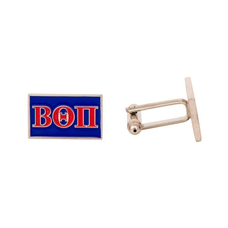 Beta Theta Pi Rectangle Cuff Links