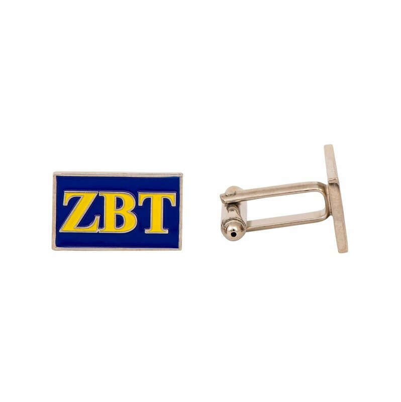 Zeta Beta Tau Rectangle Cuff Links