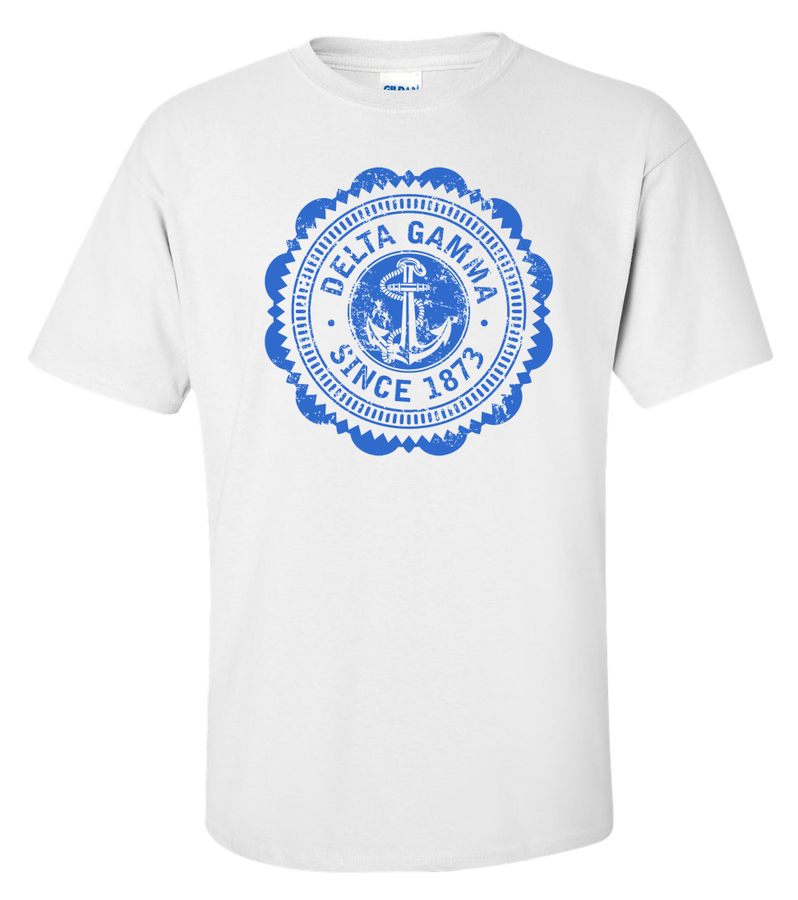 Delta Gamma Old Style Classic T-Shirt