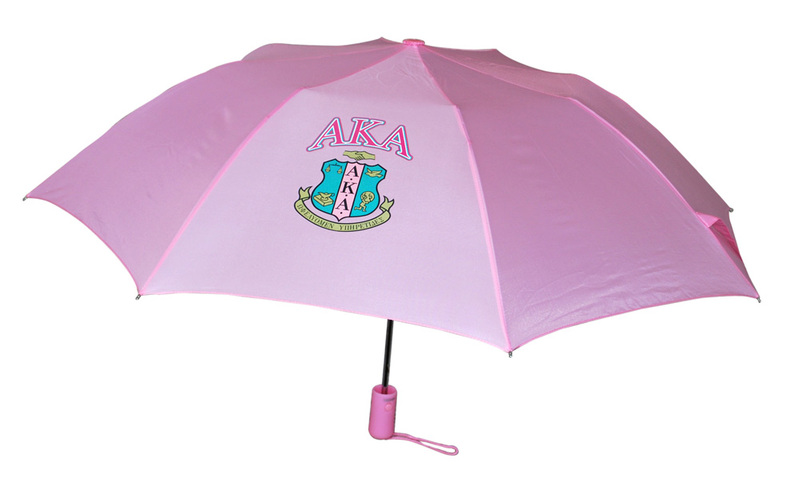 Alpha Kappa Alpha Crest - Shield Umbrella