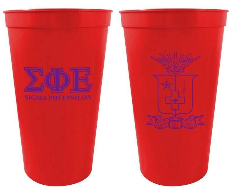 Sigma Phi Epsilon Big Crest Stadium Cup