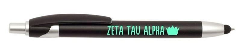 Zeta Tau Alpha Retractable Stylus Pen