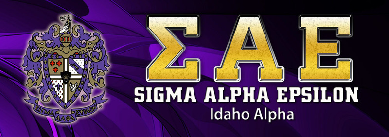 Sigma Alpha Epsilon Vinyl Banner
