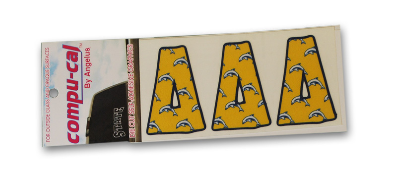 Sorority Pajama Letter Stickers