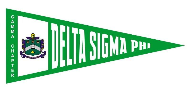 Delta Sigma Phi Wall Pennants