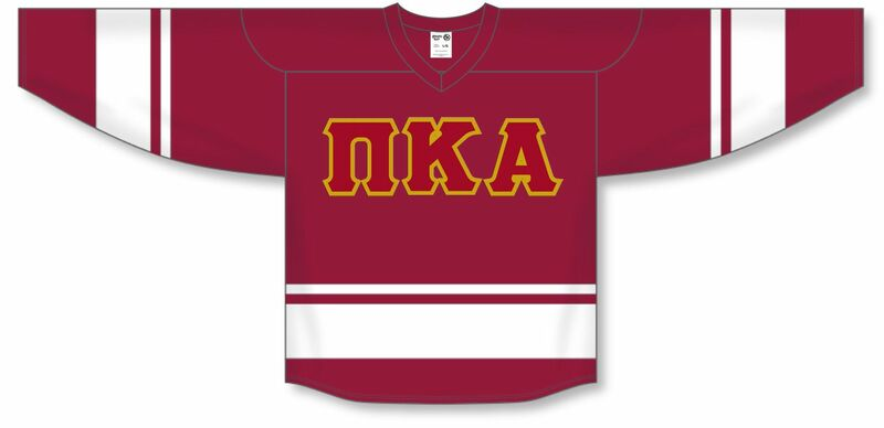 DISCOUNT-Pi Kappa Alpha Breakaway Lettered Hockey Jersey