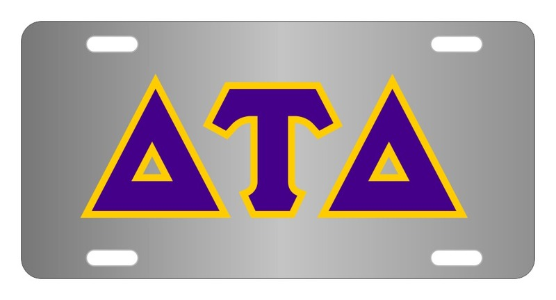 Delta Tau Delta Lettered License Cover
