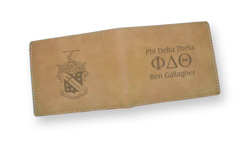 Fraternity Light Brown Wallet