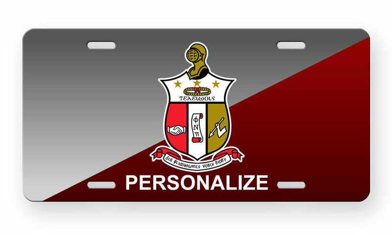Kappa Alpha Psi License Cover