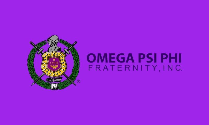 Omega Psi Phi Giant Flag