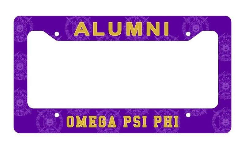 Fraternity & Sorority Alumni / Alumna License Plate Frame