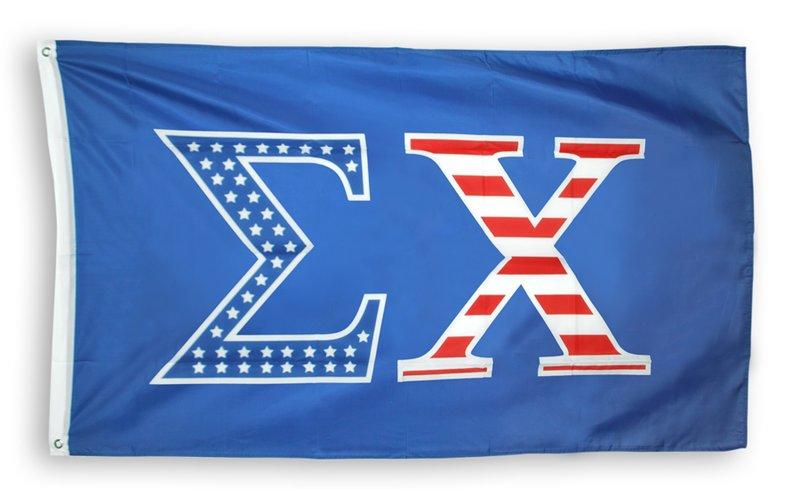 Sigma Chi 3 X 5 USA Flag