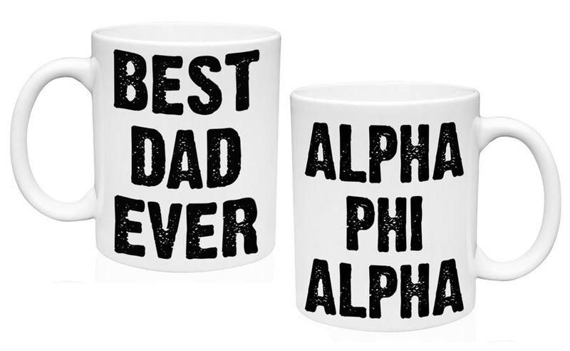 Alpha Phi Alpha Best Dad Ever Coffee Mug