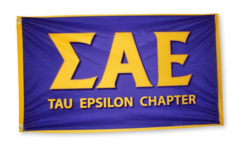 Custom Greek Letter 3 x 5 Flag