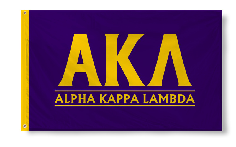 Alpha Kappa Lambda Custom Line Flag