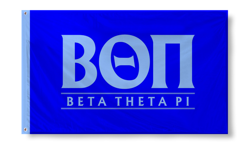Beta Theta Pi Custom Line Flag
