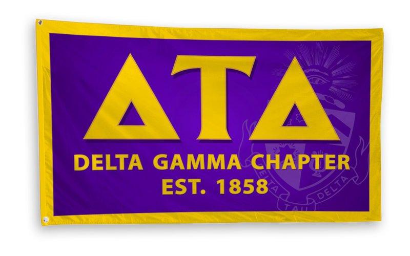 Delta Tau Delta 3 x 5 Flag