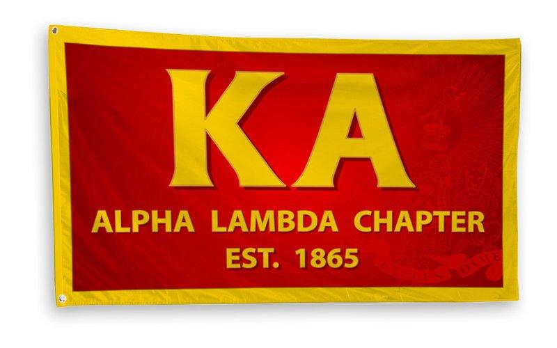 Kappa Alpha 3 x 5 Flag