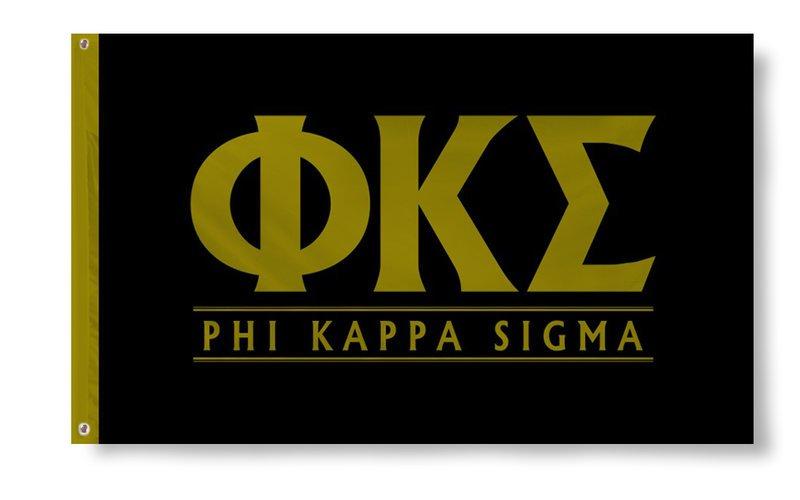 Phi Kappa Sigma Custom Line Flag