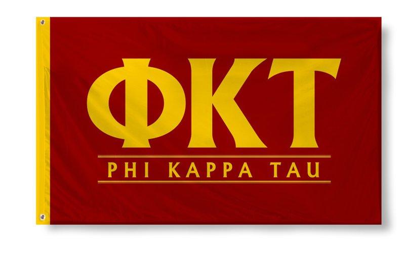 Phi Kappa Tau Custom Line Flag