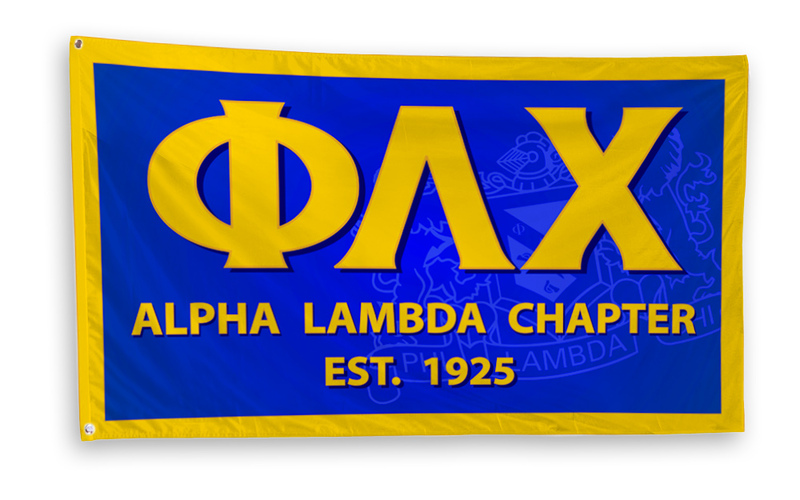 Phi Lambda Chi 3 x 5 Flag