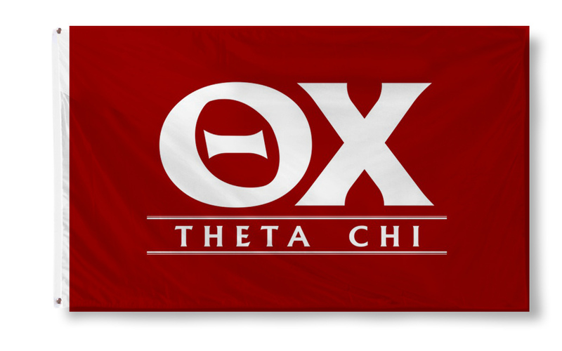 Theta Chi Custom Line Flag