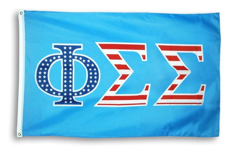 Phi Sigma Sigma 3 X 5 USA Flag