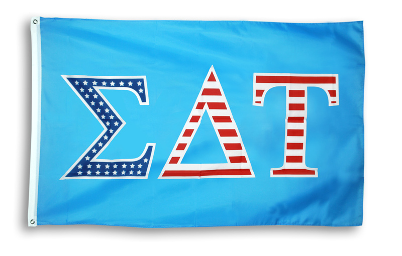 Sigma Delta Tau 3 X 5 USA Flag