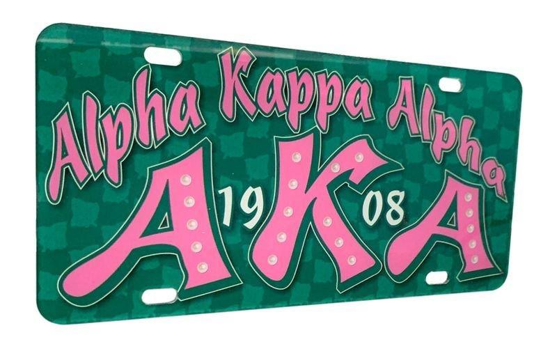 Alpha Kappa Alpha D9 Founders License Plates