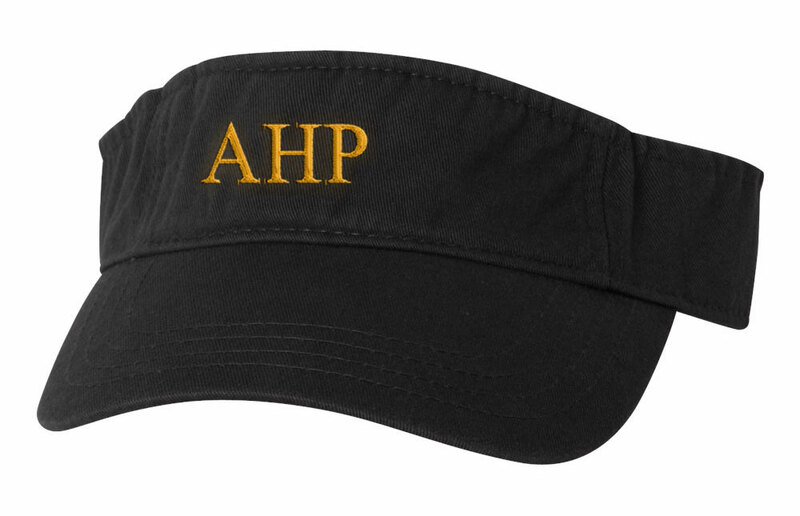 Alpha Eta Rho Greek Letter Visor