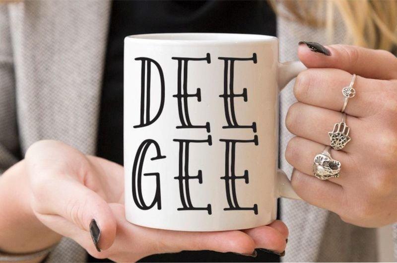 Sorority Inline Coffee Mug