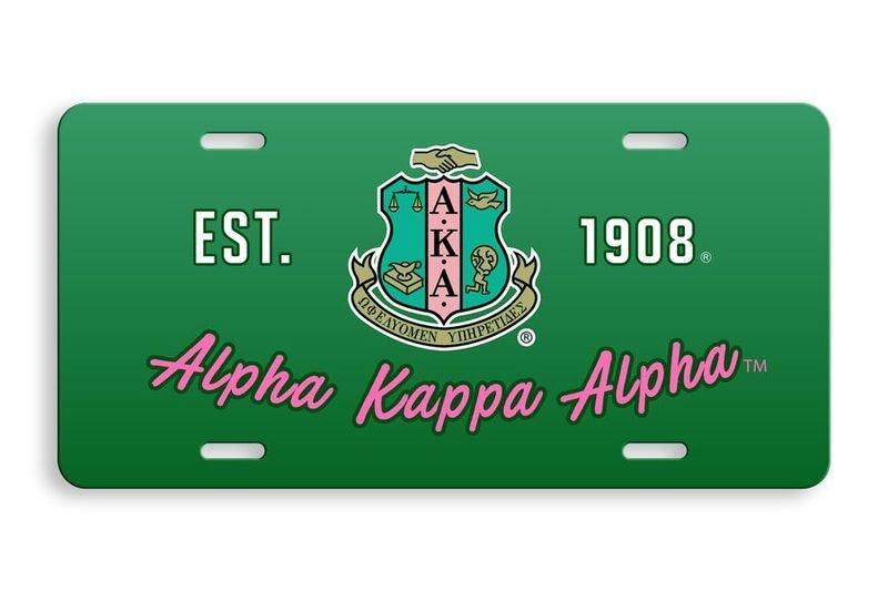 Alpha Kappa Alpha License Cover