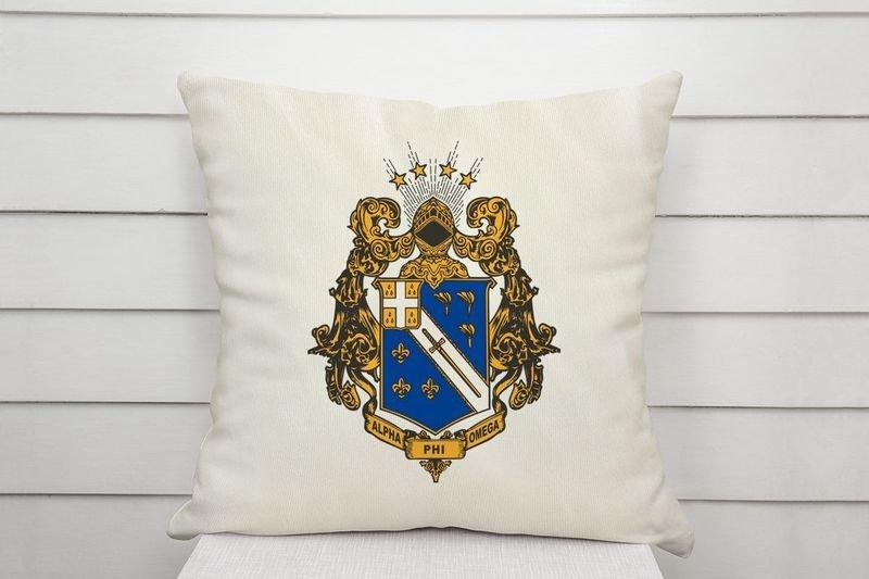 APhiO Linen Crest - Shield Pillow