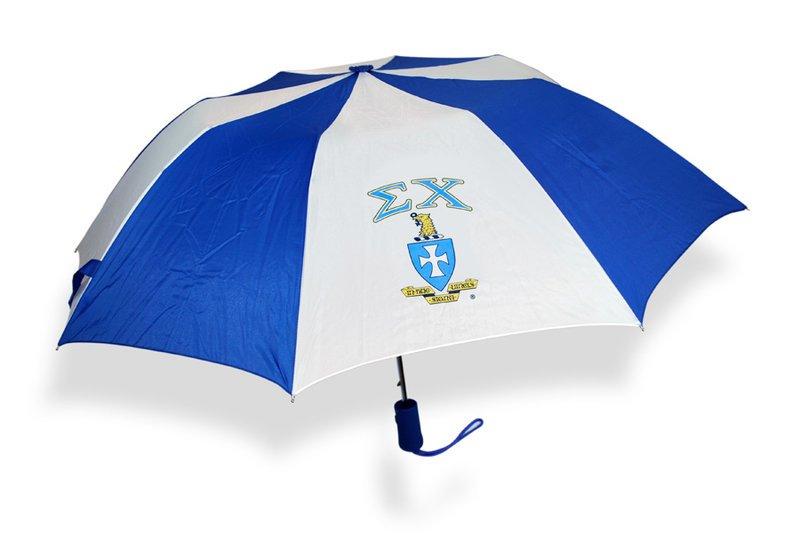 Sigma Chi Crest - Shield Umbrella