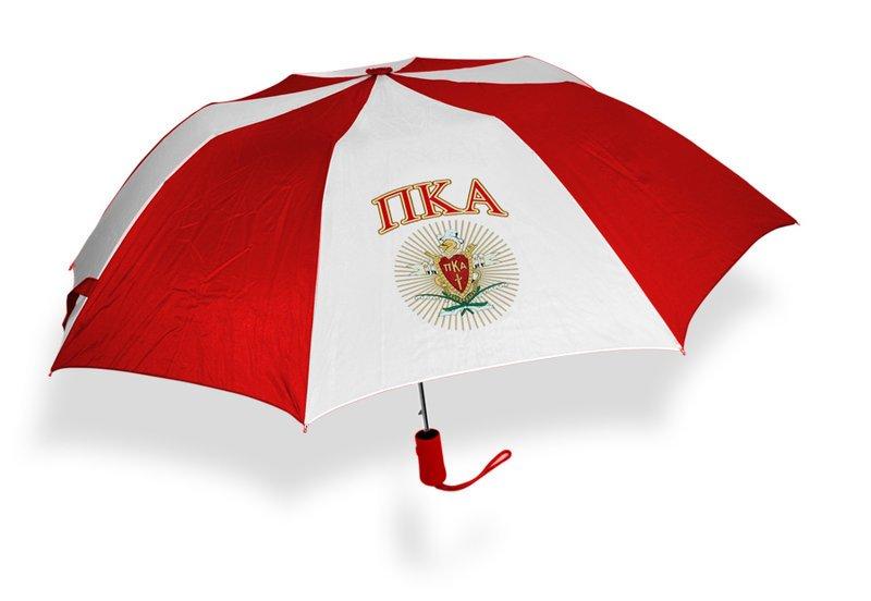 Pi Kappa Alpha Crest - Shield Umbrella