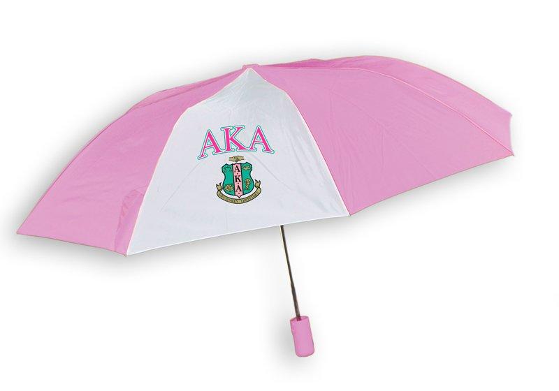 Alpha Kappa Alpha Crest - Shield Umbrella