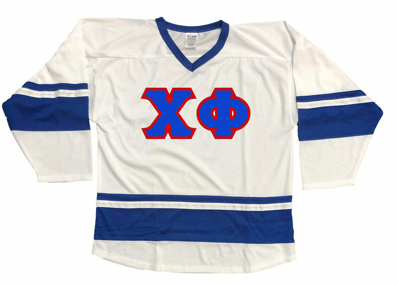 DISCOUNT-Chi Phi Breakaway Lettered Hockey Jersey