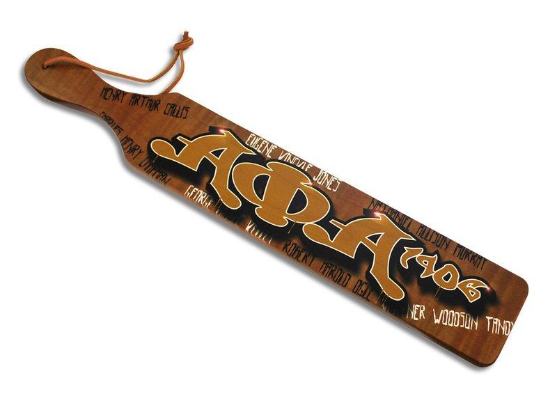 Alpha Phi Alpha Graffiti Paddles