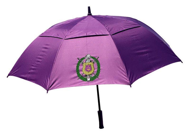Omega Psi Phi Classic Air Vent Umbrella