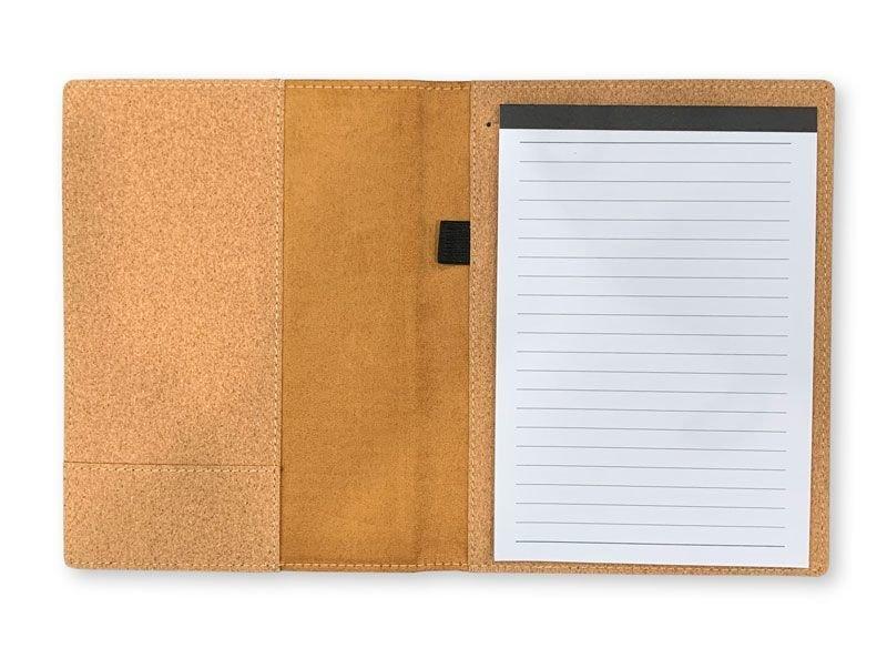 Fraternity & Sorority Cork Portfolio with Notepad