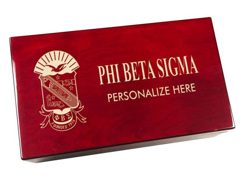 Phi Beta Sigma Engraved Gavel Set