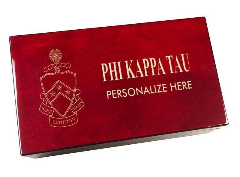 Phi Kappa Tau Engraved Gavel Set