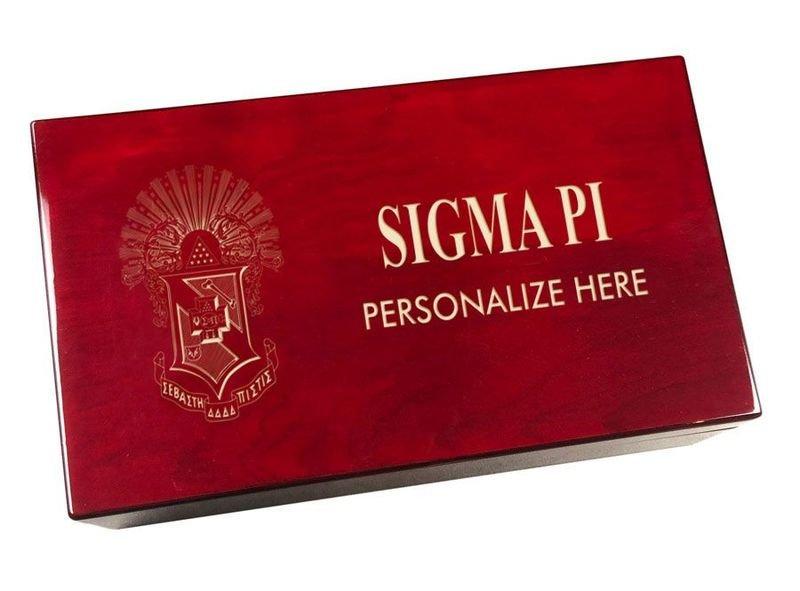 Sigma Pi Engraved Gavel Set