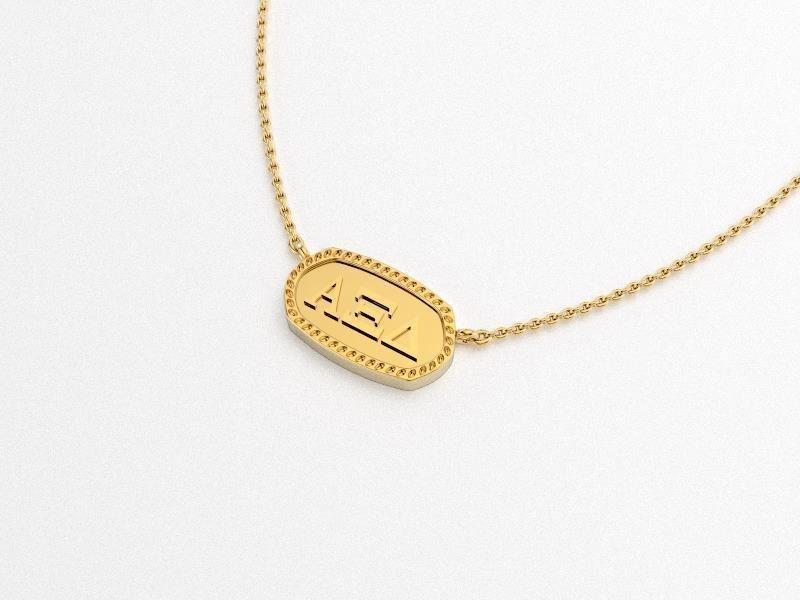 Alpha Xi Delta Athena Necklace