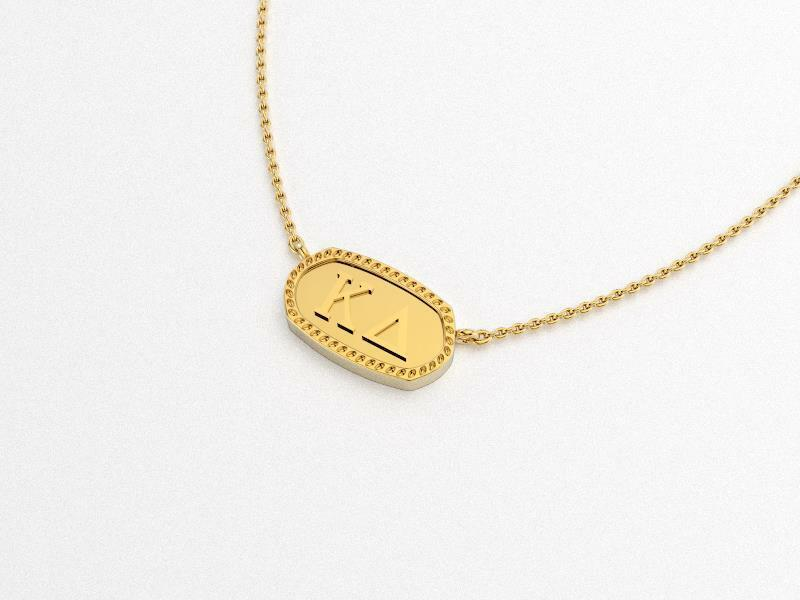 Kappa Delta Athena Necklace