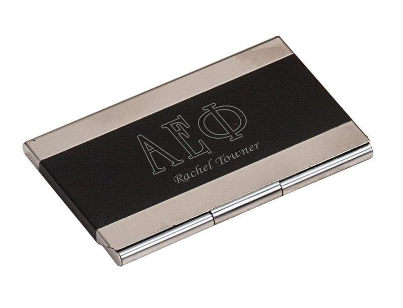 Alpha Epsilon Phi Business Card Holder