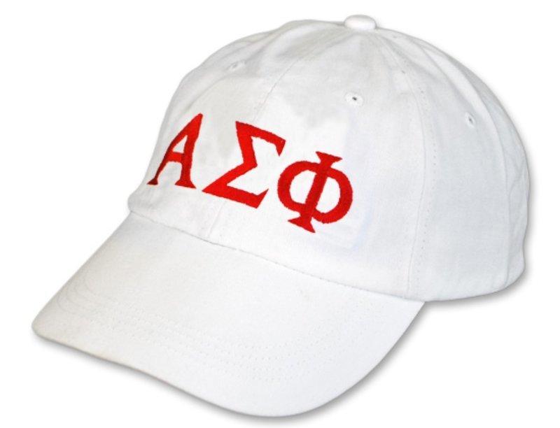 Alpha Sigma Phi Letter Hat
